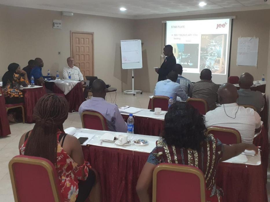 DPR Subsea Training held on 2nd - 5th Dec.,2019